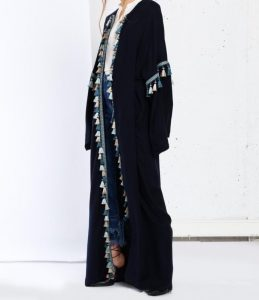 Fahima Inspiration Tassle Abaya