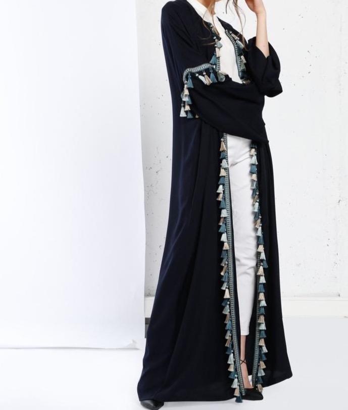 Fahima Inspiration Tassle Abaya length