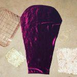 Fahima Miah Red Velvet Abaya Arm Template